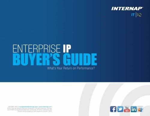 Download our Enterprise IP Buyer's Guide Now. - Internap