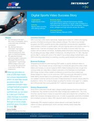 Page 1 Organization Digital Sports Video Industry Sports video ...