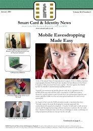 Mobile Eavesdropping Made Easy - Smart Card News