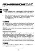 Gebruiksaanwijzing (NL/B) Installationsanleitung (D/A/CH ... - Tiptel - Page 6