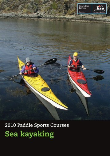Sea kayaking - Tiso