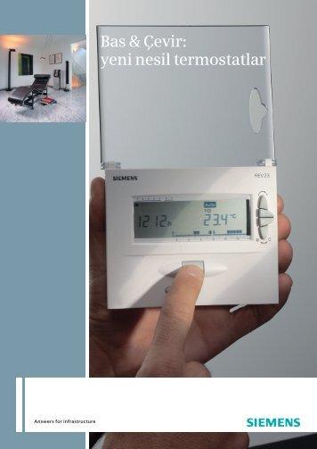 Bas & Çevir: yeni nesil termostatlar