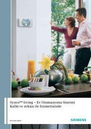 Synco™ living – Ev Otomasyonu Sistemi Kalbi ve zekâsı ile ...
