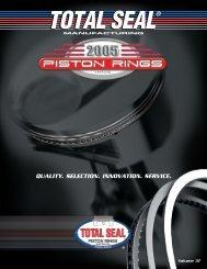 Total Seal AP Steel Piston Rings CS9010-45 .043 .043 3.0mm 4.165 Bore File Fit