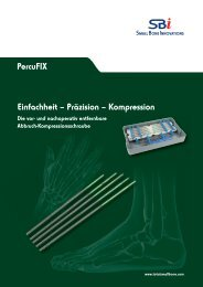 Broschüre herunterladen - Small Bone Innovations