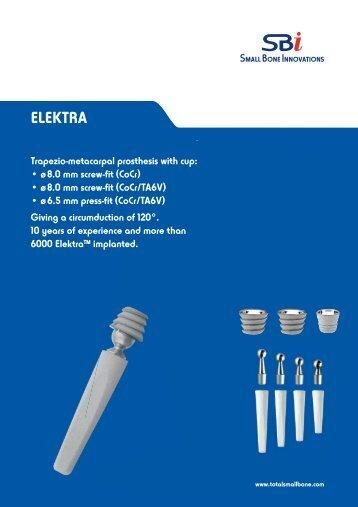 ELEKTRA - Small Bone Innovations