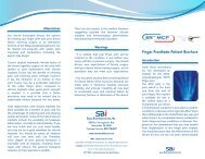 Finger Prosthesis Patient Brochure - Small Bone Innovations