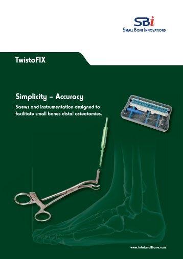 Download the TwistoFIX™ surgical technique - Small Bone ...