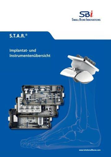 Das Dokument STAR™ Ankle Implants & Instrumenten Guide ...