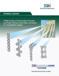 5117 UHS brochure final - Small Bone Innovations