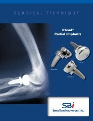 Download the rHead™ RECON Surgical Technique - Small Bone ...