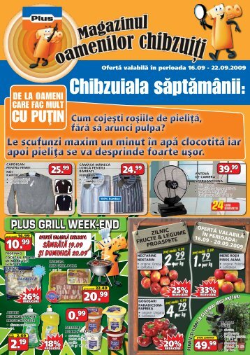 plus grill week-end - TotulRedus.ro