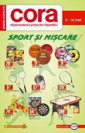 Catalog CORA Supliment Sport 3-16 mai-1.pdf - TotulRedus.ro