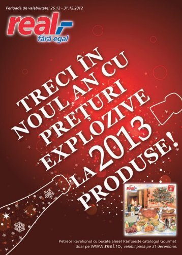 Catalog REAL ,- Preturi explozive 29 nov - 24 dec-1 ... - TotulRedus.ro
