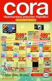 Catalog CORA - Supliment - valabil 24 august - 6 ... - TotulRedus.ro
