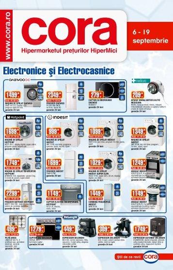 Catalog CORA Supliment Electronice 6-19 ... - TotulRedus.ro