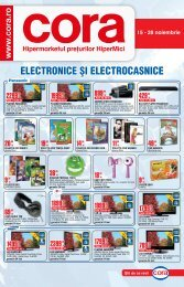 Catalog CORA Supliment Electronice 15-28 ... - TotulRedus.ro