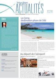 édito agenda - Aéroport Toulouse-Blagnac