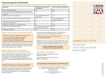 ARBEITSSTOFFE - aushang.at
