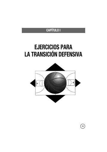 EJERCICIOS PARA LA TRANSICIÓN DEFENSIVA - Librería ...