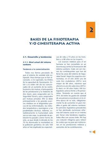BASES DE LA FISIOTERAPIA y/o CINESITERAPIA ACTIVA
