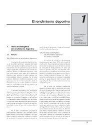 El rendimiento deportivo - Editorial Paidotribo Mexico