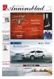 Kiruna Annonsblad vecka 18, torsdag 5 maj 2011 sidan 1