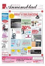 Kiruna Annonsblad vecka 7, torsdag 17 februari sidan 1