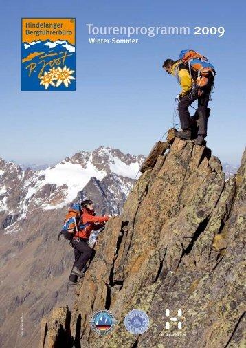 Tourenprogramm 2009 - Hindelanger Bergführerbüro