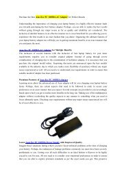 Purchase the Best Asus Eee PC 1005HA AC Adapter for Perfect Results.pdf
