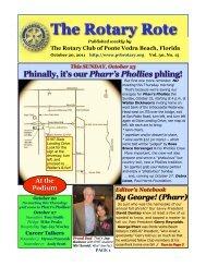 Rote 102011.pdf - Ponte Vedra Beach Rotary Club