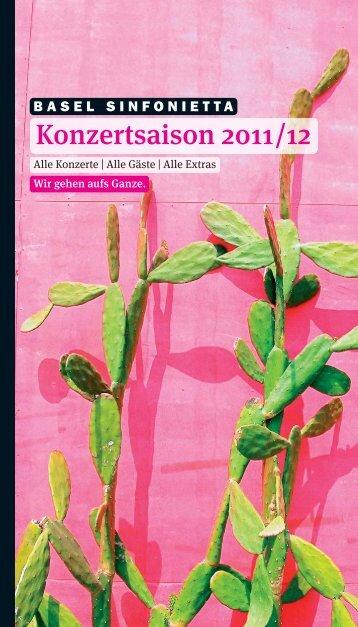 SaisonPro_Inhalt_bs Saison Pro 1011_12 - Basel Sinfonietta