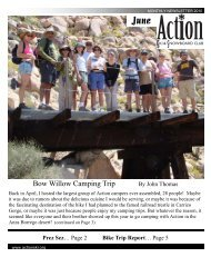 June 2010 Newsletter - Action Ski and Snowboard Club