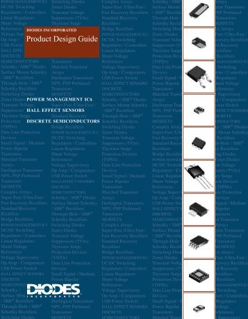 Product Design Guide - Diodes, Inc.