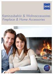 Kaminzubehör & Wohnaccessoires Fireplace & Home Accessories