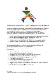 Die Leitlinien der Kinder - Evangelische Kirchengemeinde Beuel