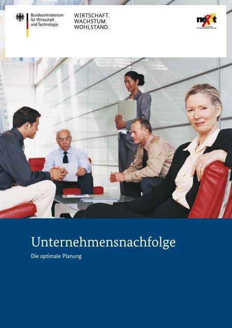 Unternehmensnachfolge - Die optimale Planung