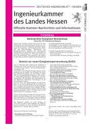 September 2001 - Ingenieurkammer Hessen