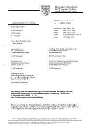 Erläuterungen zum Kriterienkatalog der NBVO des HMWVL
