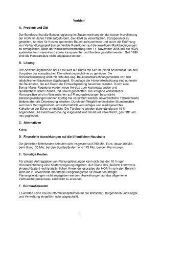 Kabinettsvorlage