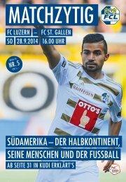 FC LUZERN MATCHZYTIG N°5 14/15 (RSL 9)