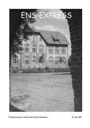 Projektwoche 2009 und die 100-Jahr - Emil-Nolde-Schule