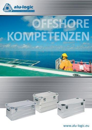 Aluminium Kisten für die Offshore Industrie