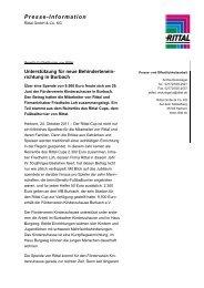 Pressetext (PDF, 44 KB) - Friedhelm Loh Group