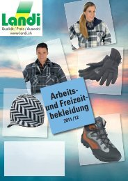 Arbeits- und Freizeit- bekleidung - LANDI Jungfrau AG