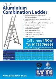 data sheet - Lyte Ladders
