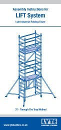 LIFT System - Lyte Ladders