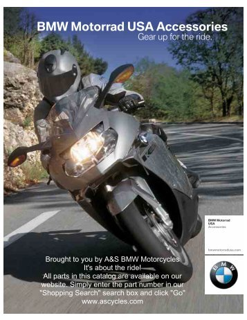 BMW Motorrad USA Accessories - A&S BMW Motorcycles