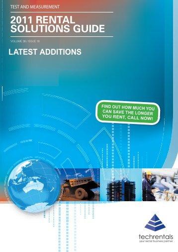Mini Catalogue TR0463.indd - Tech-Rentals