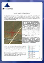 Download our Vehicle Condition Monitoring ... - Tech-Rentals